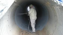 internal pipe coating