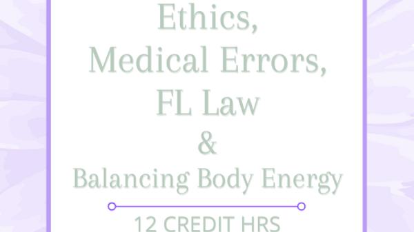FL Mandatory Home Studies Plus Balancing Body Energy 12 CEs