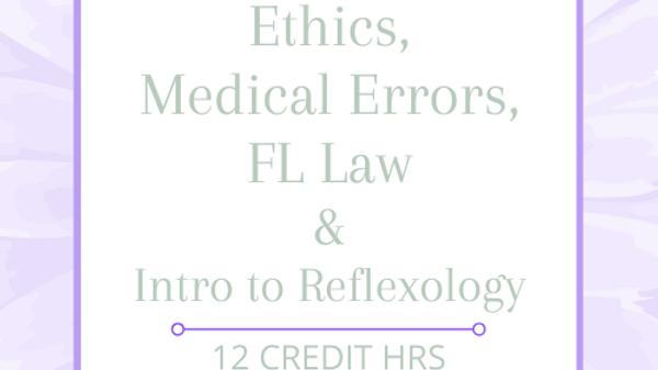 FL Mandatory Home Studies Plus Introduction to Reflexology 12 CEs