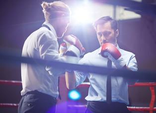 Boxeadores que se dañaron mutuamente
