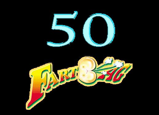 50 Fartbags