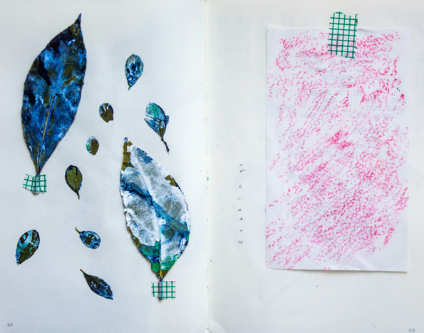 Rubbings from Trees and Fossils