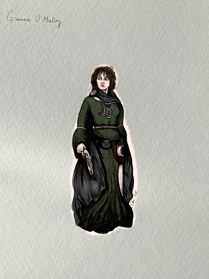 """Gráinne O'Malley, """"The Pirate Queen"""""""