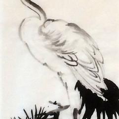 crane inspiration Huang Huan Wu