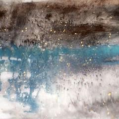 misty marshland