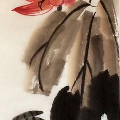 duck with lotus inspiration Qi Bashi