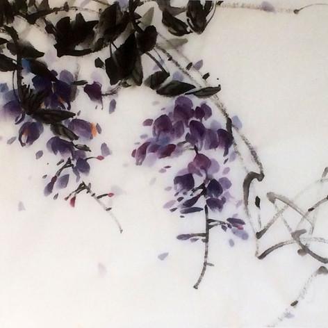 tumbling wisteria