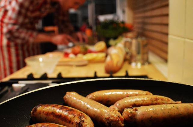Sausages Street Food