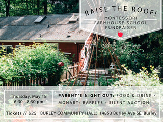 Raise the Roof! Parents are going for a night OUT to help school get a new roof.