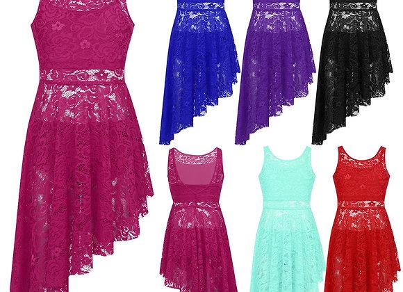 Lace Aysemetric Dress