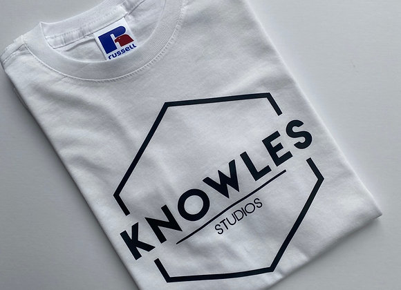 Knowles White T Shirt
