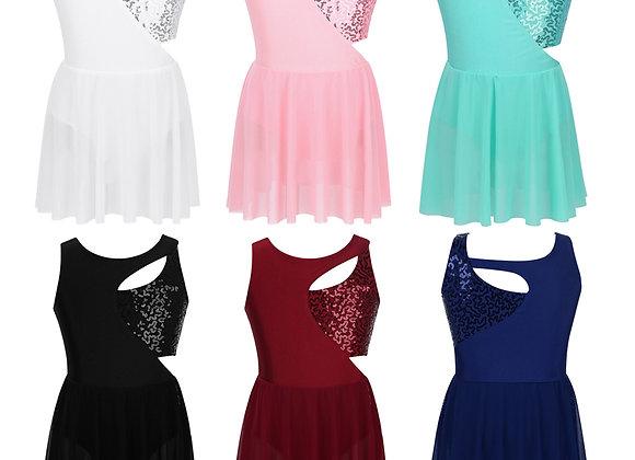 Skater Style Sequin Dress