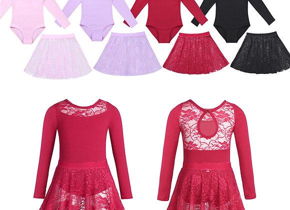 Coloured Lace Dance Dress
