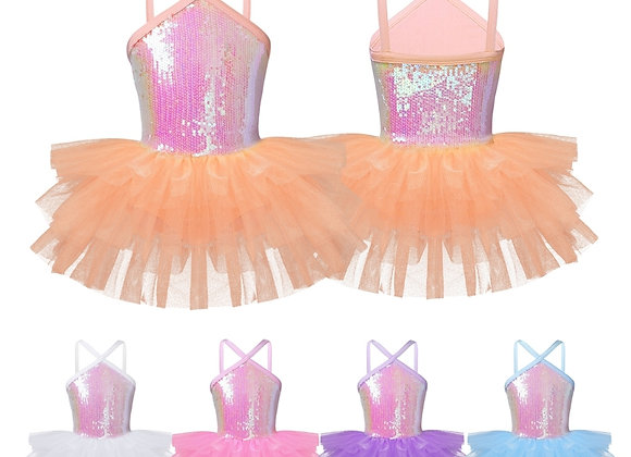 Coloured sequin tutu dress *5 colours*