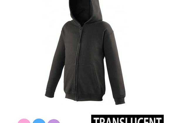 Translucent Adult Hoody
