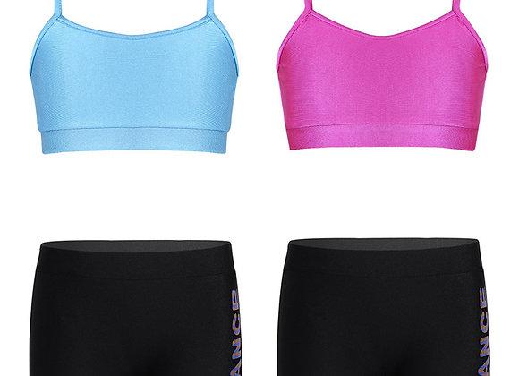 Crop Top & Shorts Set