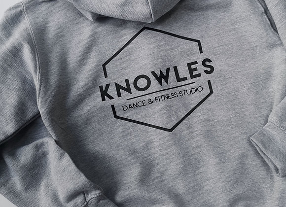 Grey Knowles Zipped Hoody