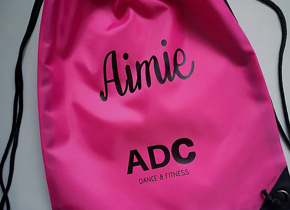 ADC Personalised Drawstring Bag