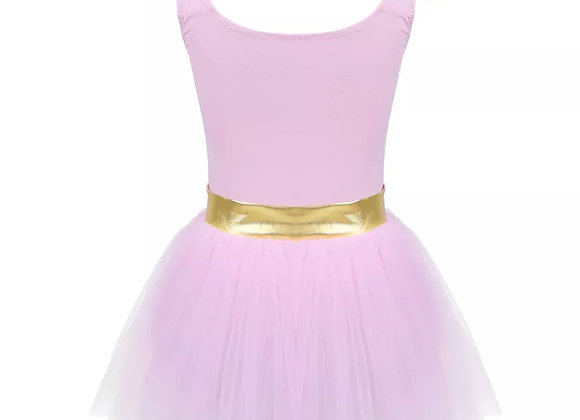 Pastel leotard with attached tutu