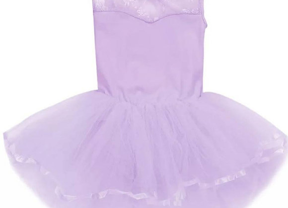 Preorder - Cut Out Back Lace Tutu Dress