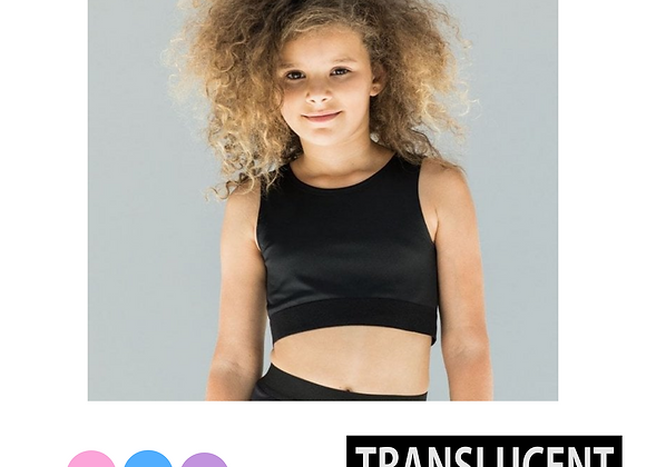 Translucent Children's Crop Top