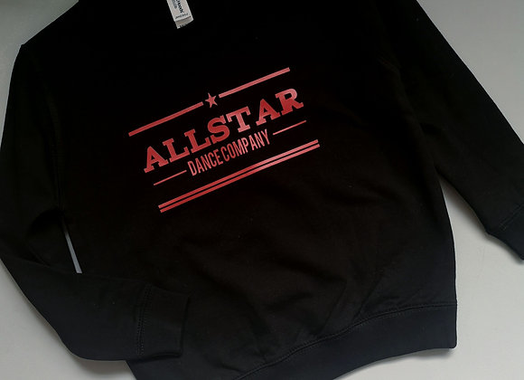 ALLSTAR Black Child Jumper