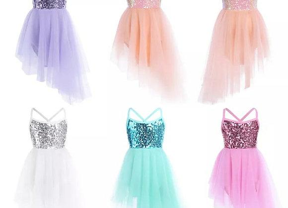 Preorder - Sequin Lyrical Dress