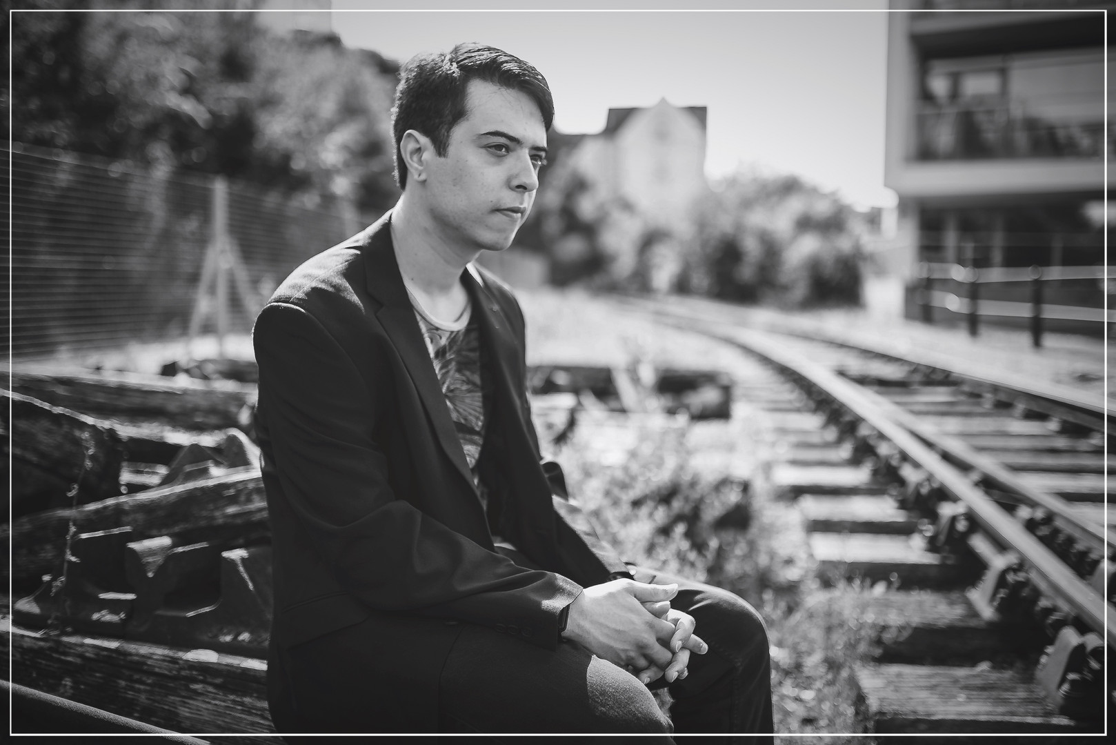 Bristol photoshoot June 2017 (Trainlines by docks)