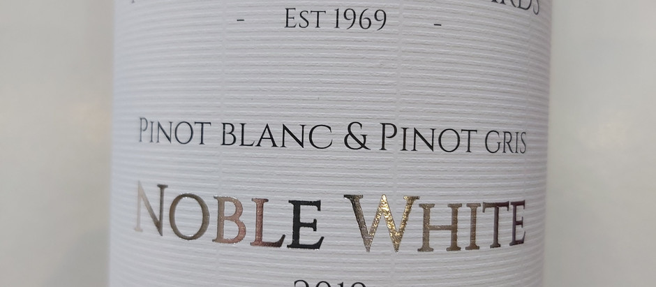 NEW RELEASE! 2019 NOBLE WHITE!