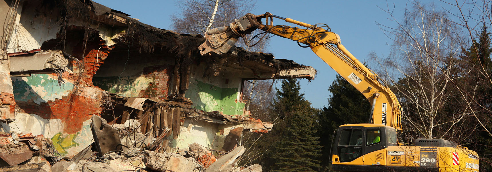 NJ residential demolition