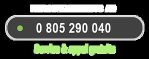 Renseignements au 0805 290 040, Appel gratuit !