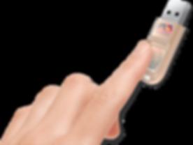 Clé usb biométrique sécurisée