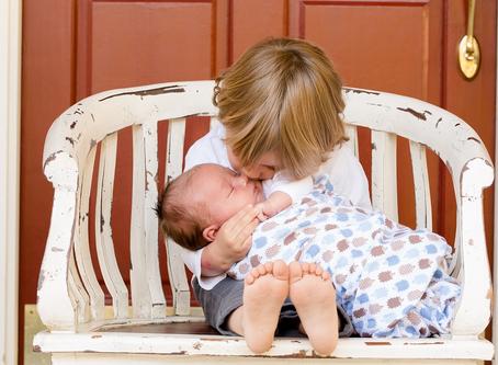 A Dozen Ways to Help Older Children Adjust to a New Baby