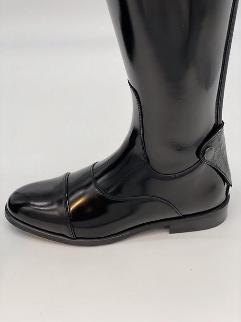Kingsley Olbia--Polished black, size 40.5