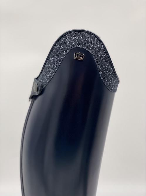 Kingsley Olbia Field Boot--Polished Blue, size 38.5