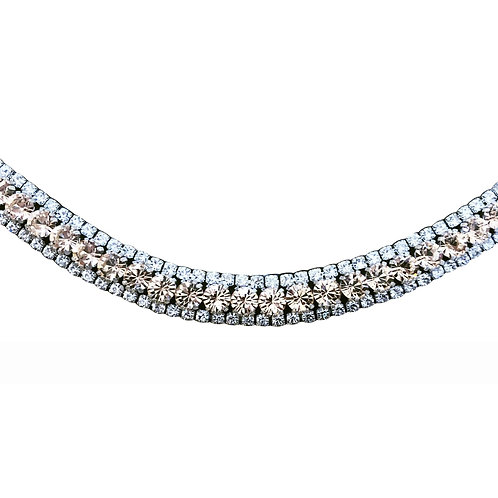 Champagne Crystal Browband
