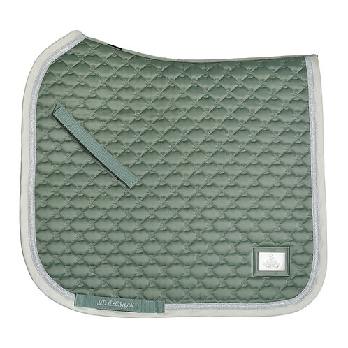"SD Design ""Be Tempted"" Dressage pad--Peppermint Cake Pop"