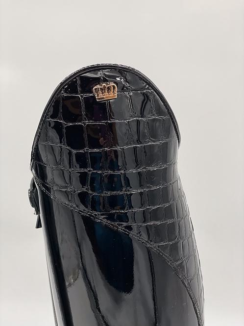 Kingsley Capri--Patent Black, size 37