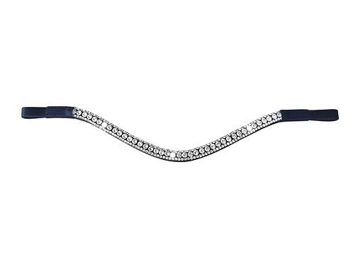 Solitaire Crystal Browband, Full