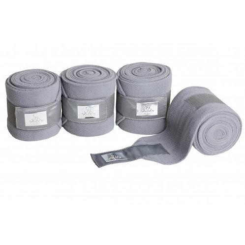 SD Gem Fleece Bandages--Silver