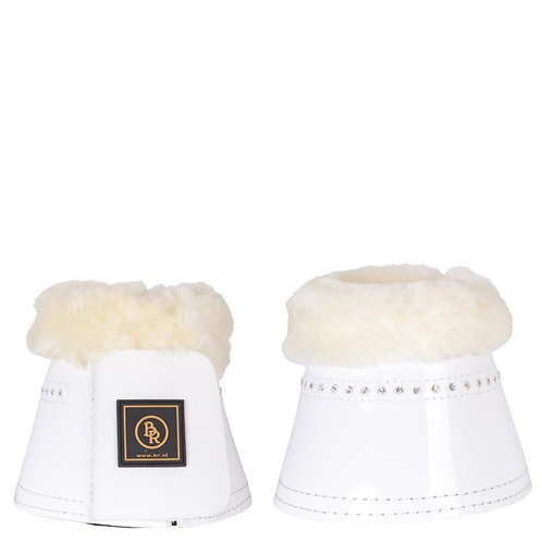 BR Bell Boots Glamour Lacquer with sheepskin