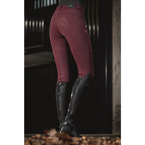 HKM Softshell Winter Breeches (Morello)