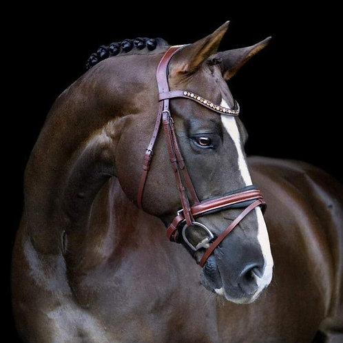 """Arabella"" Snaffle Bridle, Full"