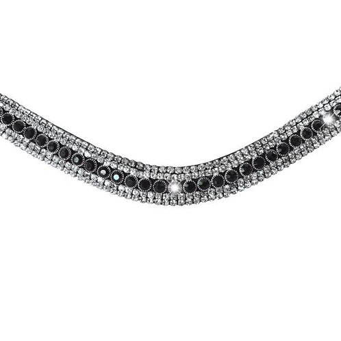 Black Crystal Browband