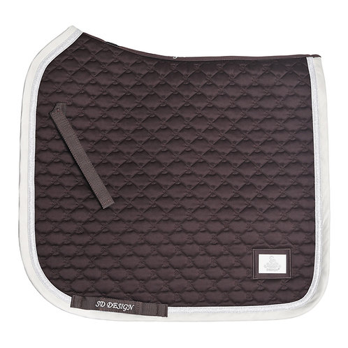 "SD Design ""Be Tempted"" Chocolate Macaron Dressage Pad"