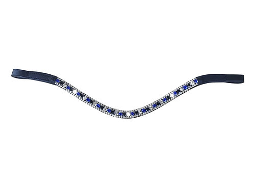 Blue Crystal Browband, Full