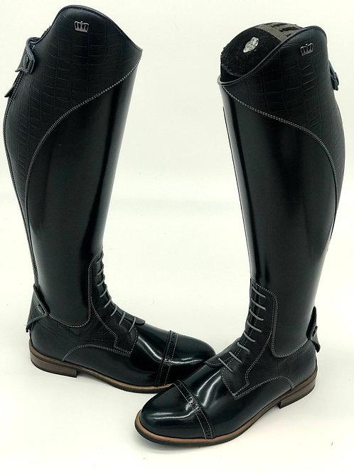 Olbia Field Boot, size 39 (Polished Blue)