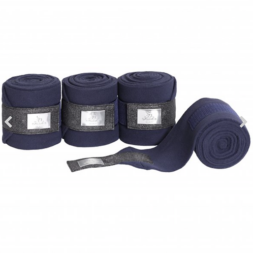 SD This Is Me Fleece Polo Bandages-Navy and White