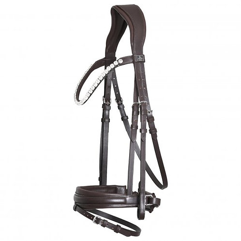SD L'Unique Bridle-Brown/Brown- Full sized