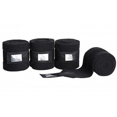SD Gem Fleece Bandages--Onyx